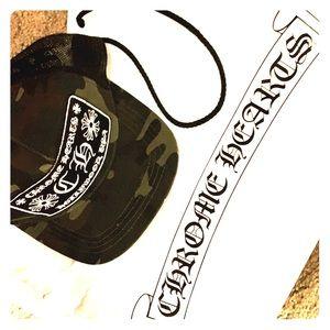 Chrome hearts trucker cap brand new